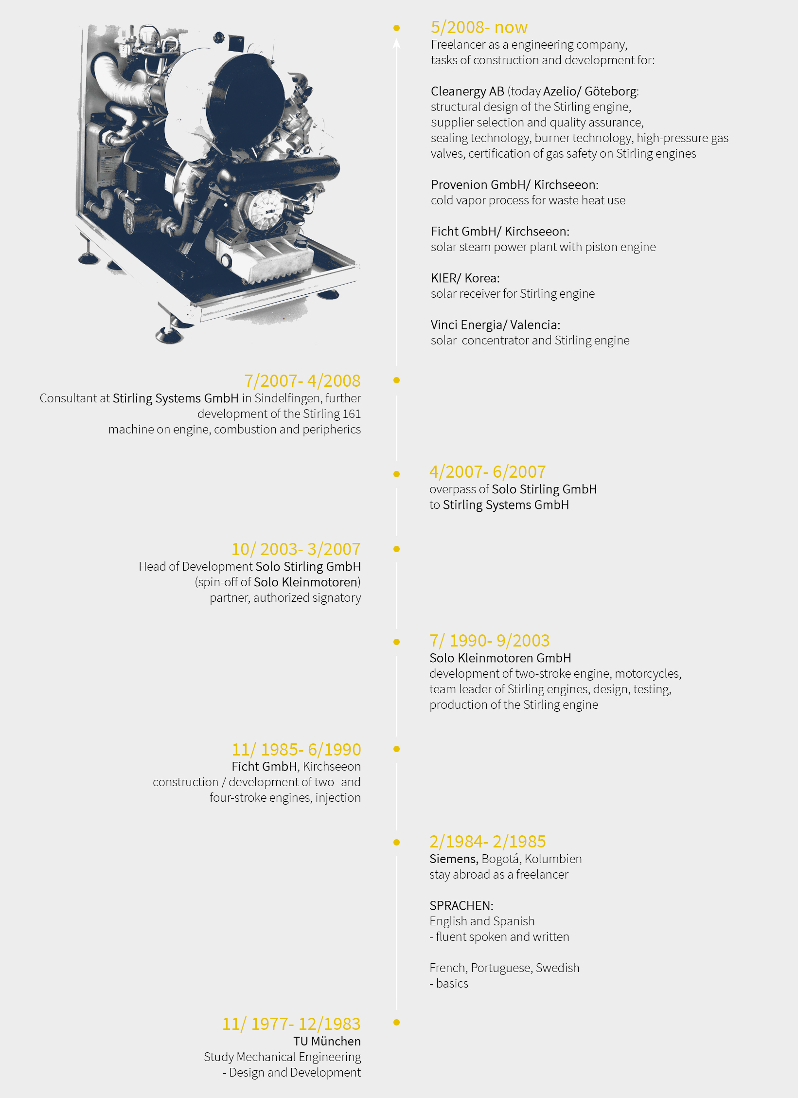 Stirling technology company